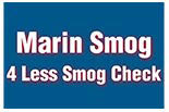 MARIN SMOG OF SAN RAFAEL & 4LESS SMOG CHECK OF MILL VALLEY logo