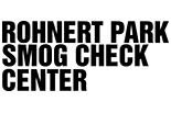 Rohnert Park Smog Check Center logo