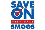 SAVE ON SMOGS logo