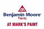 Mark's Paints - Benjamin Moore Paints logo