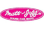 Matt & Jeffs Car Wash logo