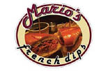 Mario's French Dips logo