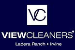 VIEW CLEANERS logo