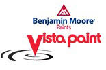 BENJAMIN MOORE PAINTS @ VISTA PAINT STORES logo