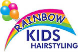RAINBOW KIDS HAIRSTYLING logo