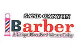 SAND CANYON BARBER logo