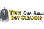 Ties 1 Hour Dry Cleaning logo