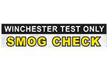 Winchester Test Only Smog logo