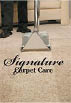 Signature Carpet Care logo