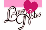 LOVE NOTES Message-In-A-Bottle Gift Service logo