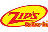 Zip's Drive In logo