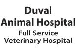 DUVAL ANIMAL HOSPITAL logo