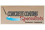 CONCRETE COATING SPECIALIST logo
