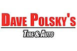DAVE POLSKY'S TIRE AND AUTO CENTERS logo