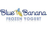BLUE BANANA FROZEN YOGURT logo