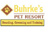 BUHRKES PET RESORT logo