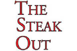THE STEAK OUT logo