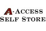 A-ACCESS SELF STORAGE logo