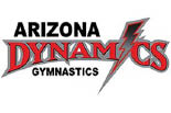 ARIZONA DYNAMICS GYMNASTICS logo