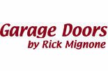 GARAGE DOORS...bY RICK MIGNONE logo