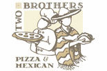 Two Brothers Pizza & Mexican logo