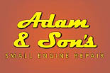 ADAM & SON'S SMALL ENGINE REPAIR logo