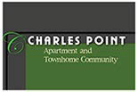 Charles Point Apartment & townhome community logo