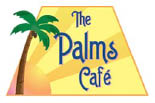The Palms Cafe logo