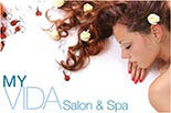 MY VIDA SALON & SPA logo