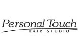 PERSONAL TOUCH HAIR STUDIO logo