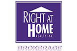 RIGHT AT HOME REALTY logo