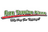 FREE TOPPING PIZZA logo
