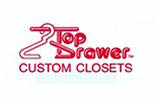TOP DRAWER CUSTOM CLOSETS logo