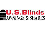 U S BLINDS logo