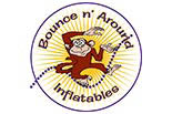 Bounce N' Around Inflatables logo