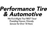 PERFORMANCE TIRE AND AUTOMOTIVE logo