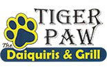 TIGER PAW DAIQUIRIS & GRILL logo