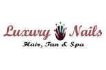 LUXURY NAILS -HAIR-TAN-SPA logo
