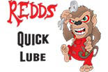 Redd's Quicklube Oil Change Center logo