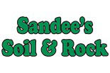 SANDEES SOIL & ROCK BULK LANDSCAPE PRODUCTS logo