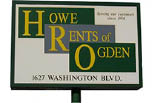 HOWE RENTS OF OGDEN EQUIPMENT RENTALS & REPAIR logo