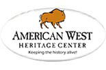 AMERICAN WEST HERITAGE CENTER logo