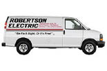 ROBERTSON ELECTRIC logo