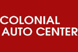 COLONIAL AUTO CENTER logo
