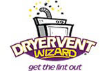DRYER VENT WIZARD logo