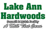 LAKE ANN HARDWOOD logo