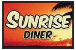 SUNRISE DINER / MSN logo