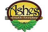 ASHES CIGAR TAVERN logo