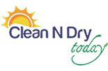 CLEAN N DRY TODAY logo