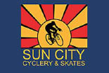 Sun City Cyclery & Skates logo